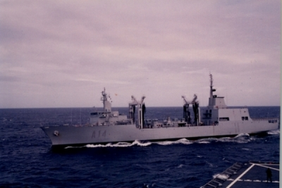 "SPS ""Patiño"" enroute to Halifax for deployment that will support Royal Canadian Navy (RCN)"